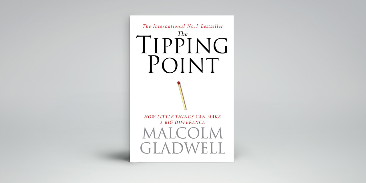 gladwells tipping point Gladwell's thesis and my view malcolm gladwell's the tipping point takes a look at society from a very objective view through the book.