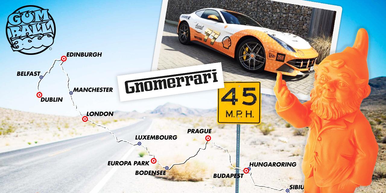 Forget Ferrari: Brandhome drives a Gnomerrari!