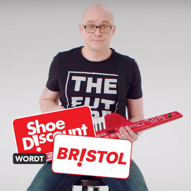 Shoe Discount rebrands as Bristol with the help of Philippe Geubels!