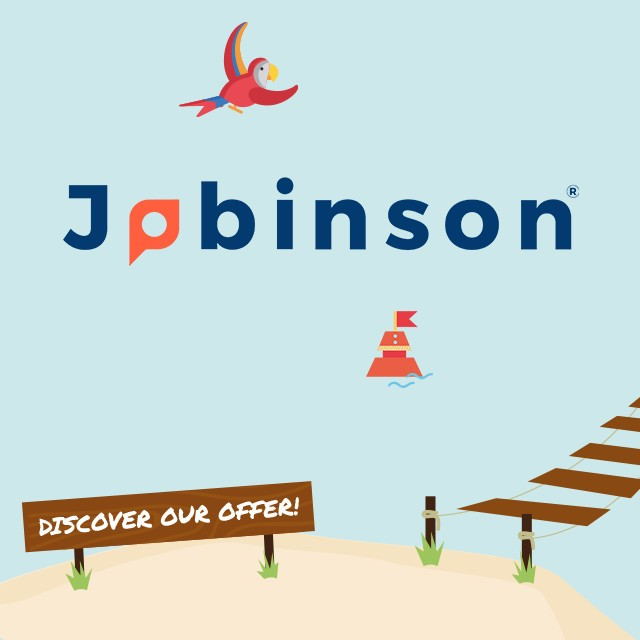 Jobinson kick–starts your job adventure