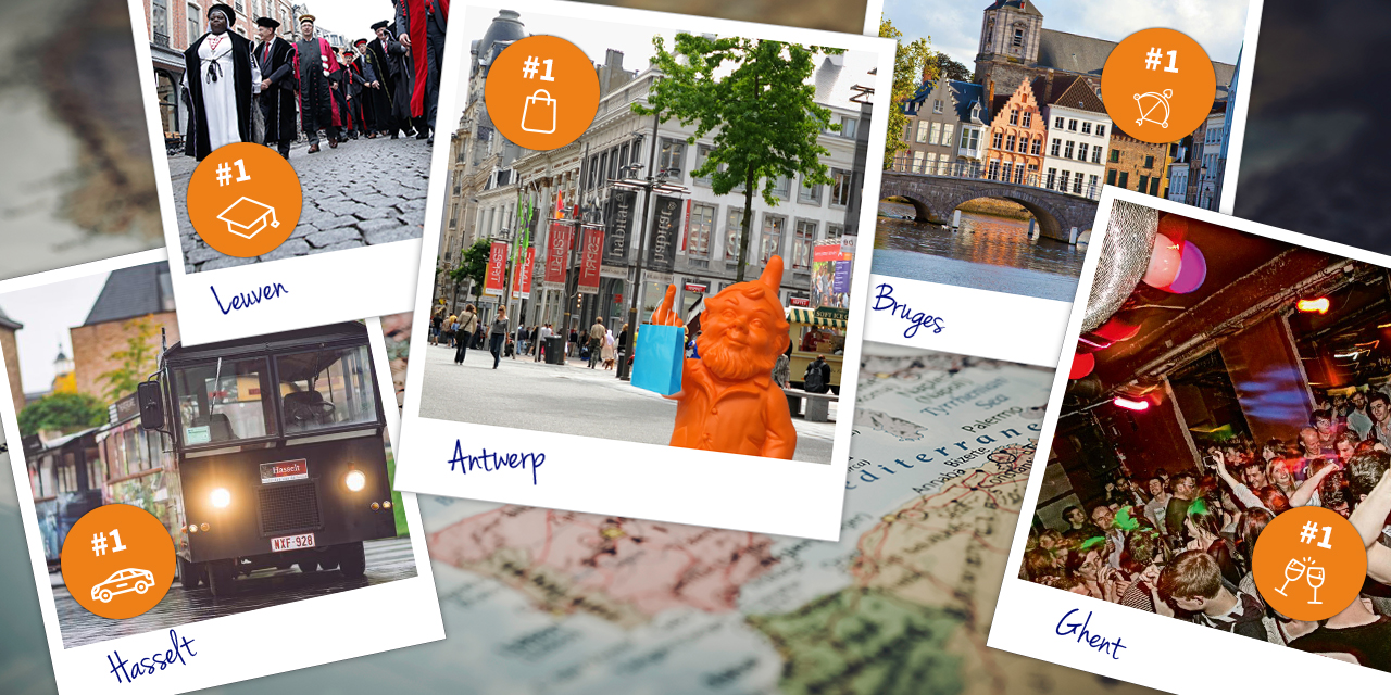 Brandhome research: Antwerp voted best shopping city