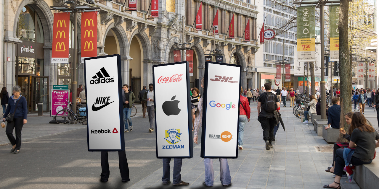 The sudden rise of flaunting logos