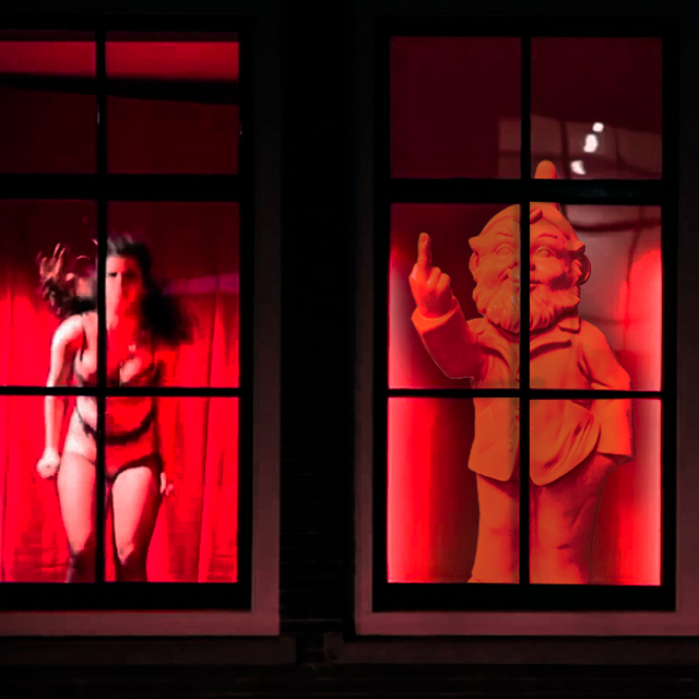 How's customer satisfaction in Antwerp's red-light district?