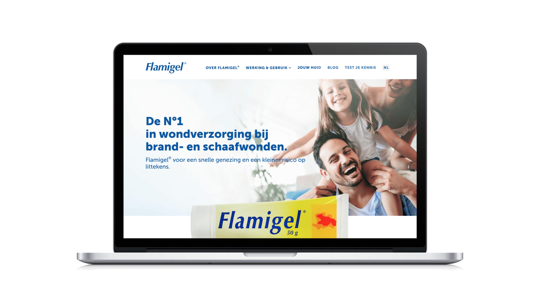 Flamigel website